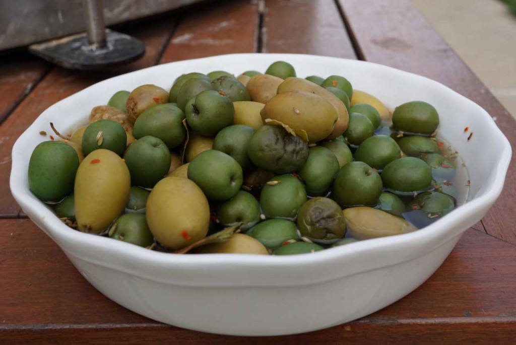 Fire Roasted Olives